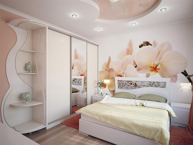 Красиві шафи-купе в спальню